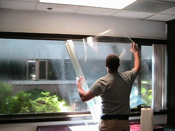 Security / Storm Window Film
